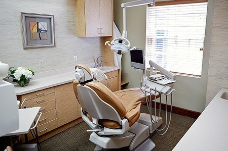 Offices and treatment areas that are designed for relaxation and reassurance.